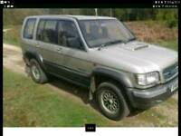 03 isuzu trooper 4x4