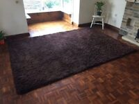 A large rug for sale