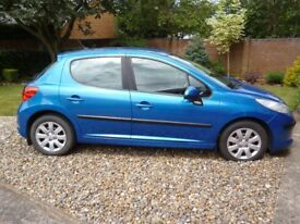 **REDUCED** PEUGEOT 207 1.6 HDI. MOT JUNE 19, TAX 30 POUNDS FOR YEAR, 60 MPG, FULL SERVICE HISTORY