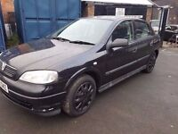 2003 VAUXHALL ASTRA 1.7 DTI..LONG MOT..1 OWNER. QUICK SALE