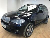 """BMW X5 3.0 XDRIVE40D M SPORT 5d AUTO 302 BHP 20"""" ALL (black) 2011"""