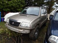 05 vitara diesel Mot expired chrome abar sidesteps Alloys towbar farm quad offroad 4x4 4wd jeep