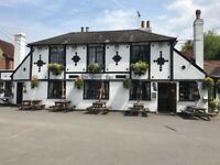 Looking for a chef for a Village pub serving homemade food and stone baked pizzas