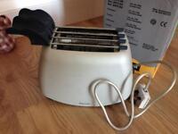 Guzzini Gildo silver toaster rrp£60