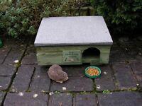 Hedgehog House, Breeding and Feeding Box
