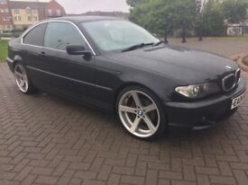 BMW 320 CI COUPE 04 PLATE 19 INCH BMW ALLOYS!!!F/S/H!!!