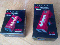 D-Drum Pro Triggers, unused, for Kick and Snare
