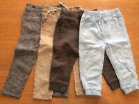 Baby Boy Trouser Bundle 18 - 24 Months