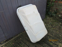Campervan/motorhome top or back box