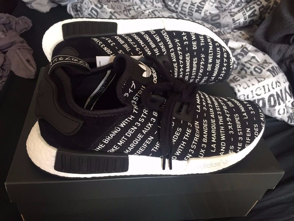 Adidas Nmd R1 Blackout
