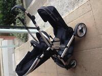 Baby double pushchair (Pram)