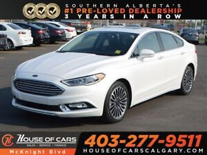 2017 Ford Fusion SE / Sunroof / Leather / Back Up Cam