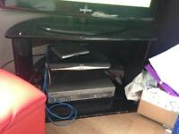 DVD recorder and player and 32 inch Samsung tv