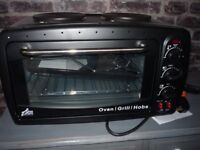 TABLE TOP ELECTRIC OVEN AND HOB NEW BUT NO BOX