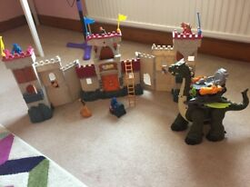 Imaginext Castle Fort and Dinosaur