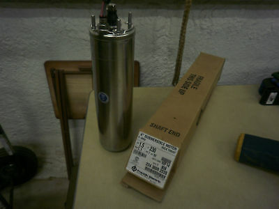 1 12 Hp Franklin Electric Submersible Pump Motor Only