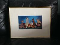 LADY AND THE TRAMP 1955 FRAMED