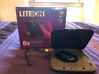 LiteOn 8x External Slim DVD-ROM Drive