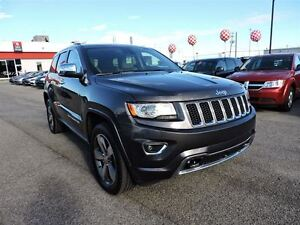 2015 Jeep Grand Cherokee OVERLAND, CRUISE ADAPTATIF, TOIT PANO,  West Island Greater Montréal image 3