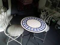 *****Quality Bistro Set Table Chairs - Like New