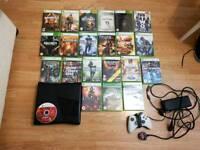 Xbox 360 console + 30 games bundle