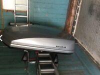 Exodus brand roof box and bars