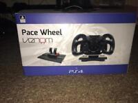 PlayStation 4 venom pace steering wheel