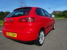 For sell SEAT IBIZA 1.4L 2005 low mileage