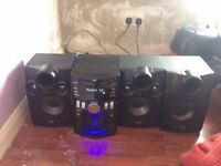 JVC (mx-kc68) Speakers Subwoofer 400w