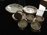 China teaset - approx 80 years old