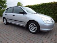 Honda Civic VTec Inspire, Just Been Traded In, Superb Honda Reliability, Bargain 5 Door Car For Sale