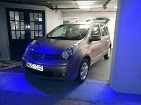 Nissan Note 2007 family cars 10%off Sat/Sun FSH goodspecFullyprepared,lotsofextrasVGCfull facilities