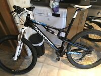 Boardman Team FS Mountain Bike (19in Large)