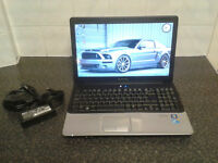 ABSOLUTE MINT CONDITION CQ61 15.6 LED CORE2DUO 2.2GHZ X2 4GB RAM 320GB HDD HDMI E-SATA WEBCAM