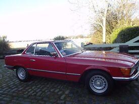 1983 MERCEDES 280sl (R107) AUTO RED Beautiful Condition