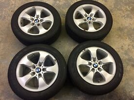 "BMW 17"" ALLOY WHEELS : PERFECT FOR WINTER TYRES"
