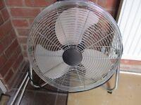 Powerful floor fan 18 inch