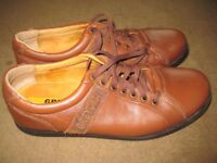 Two Pairs of Leather Shoes both Size 8.5 - £5.00 a pair