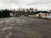 Large commercial yard space to rent