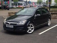 2005 (Sep 55) VAUXHALL ASTRA 16V SRi PLUS - 5 Dr Hatch - Petrol - Manual -BLACK *LONG MOT/P-SENSORS*