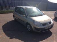Renault Scenic 2006, manual, 5dr petrol, MOT oct 18, 1 lady owner