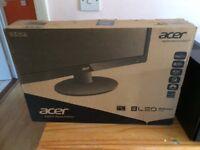 "Acer 21.5"" HD LED monitor"