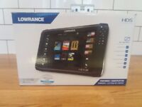 Lowrance HDS-12 Carbon with TotalScan fishfinder. Brand new in box. Unused