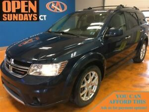 2013 Dodge Journey SXT TV/DVD! V6! ALLOYS!