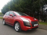 MARCH 2011 PEUGEOT 3008 ACTIVE 1.6 HDI DIESEL 6SPEED LOVELY LOW MILEAGE EXAMPLE 71k MOT APRIL 2018 !