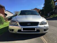 2004 (54) Lexus IS 200 [MANUAL] [2.0L]