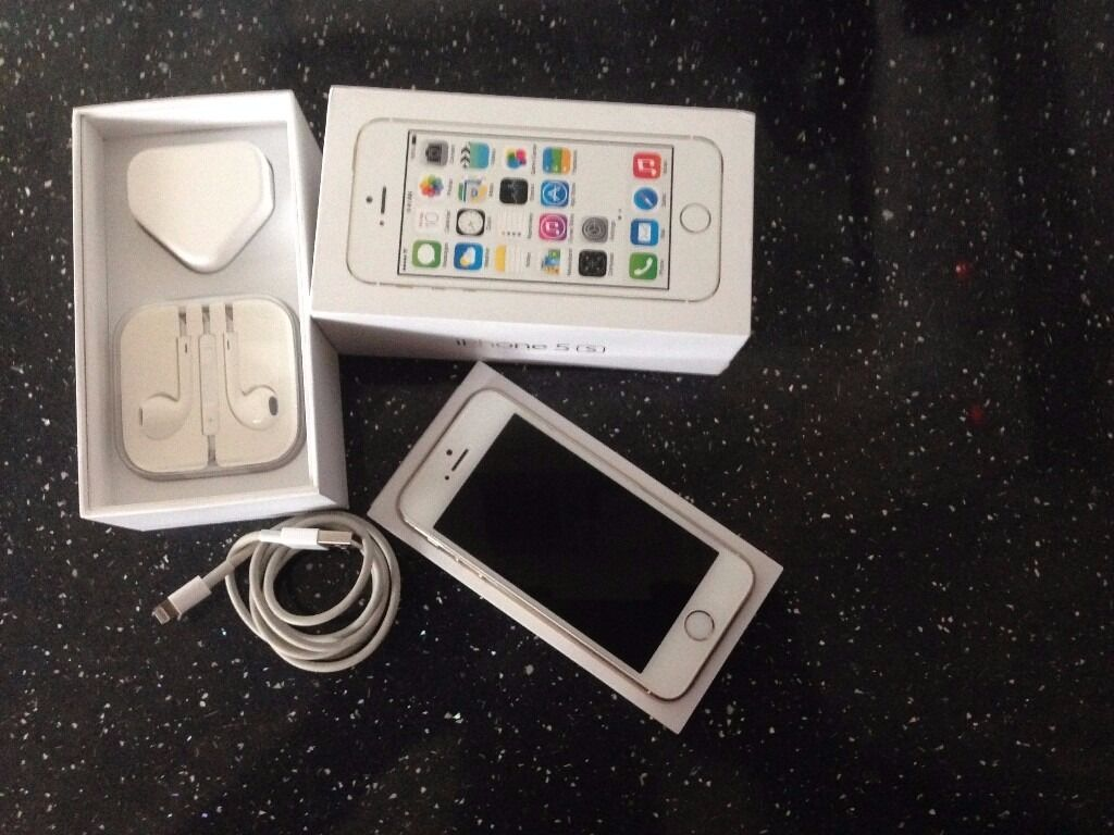APPLE iPhone 5s 32gb UNLOCKED EXCELLENT CONDITION FULLY BOXED with accessoriesin Tower Bridge, LondonGumtree - Iphone 5s 32gb Unlocked 32gb Original brand new unused earphones Original apple charger (UK) Original apple USB cable NO dent NO scratches Here is my wonderful iphone 5s, I only used the phone for face time as I had the Samsung S6 as my main phone,...