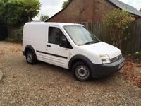 2007 TRANSIT CONNECT T200 L75! IDEAL RELIABLE VAN! NEW MOT! NEW CLUTCH PROVIDED! BARGAIN! NO VAT!