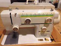 Vintage Novum Electric Sewing Machine + Accessories