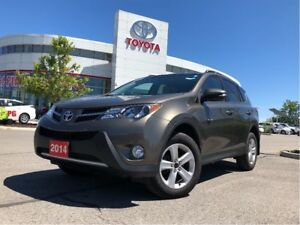 2014 Toyota RAV4 XLE AWD - One-Owner / No Accidents / Off-Lease